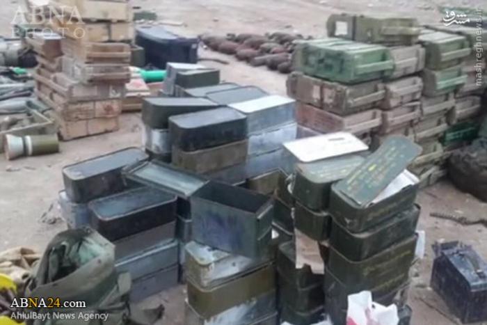 resized 1386450 941 کشف بزرگ ترین انبار مهمات داعش در عراق