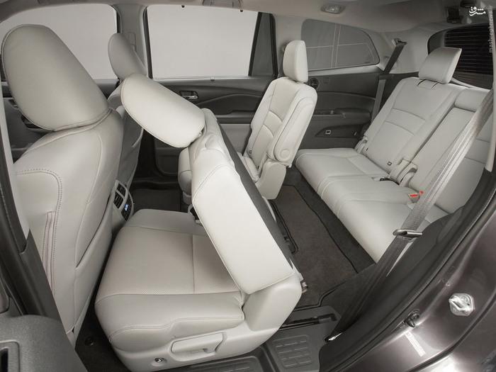خودرو هوندا بهترین شاسی بلند