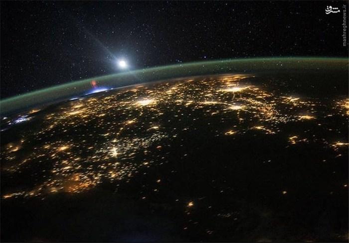 اشباح قرمز بر فراز مکزیک