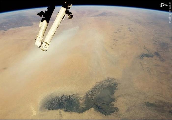 دریاچه چاد در صحرای آفریقا