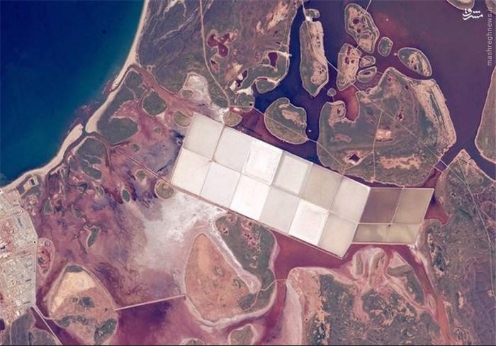 دریاچههای نمک در استرالیا