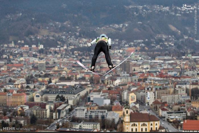 پرش اسکی باز نروژی در بازی های اتریش