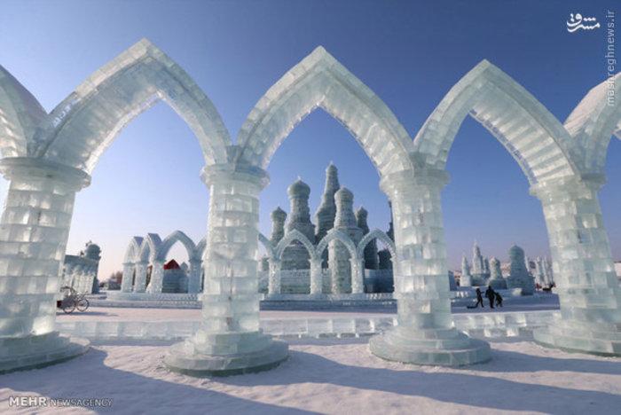 جشنواره یخ در هاربین چین
