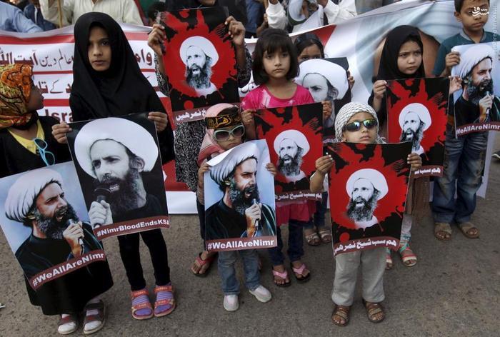 راهپیمایی شیعیان معترض در