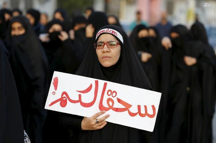 راهپیمایی شیعیان بحرین در اعتراض به اعدام شیخ نمر در