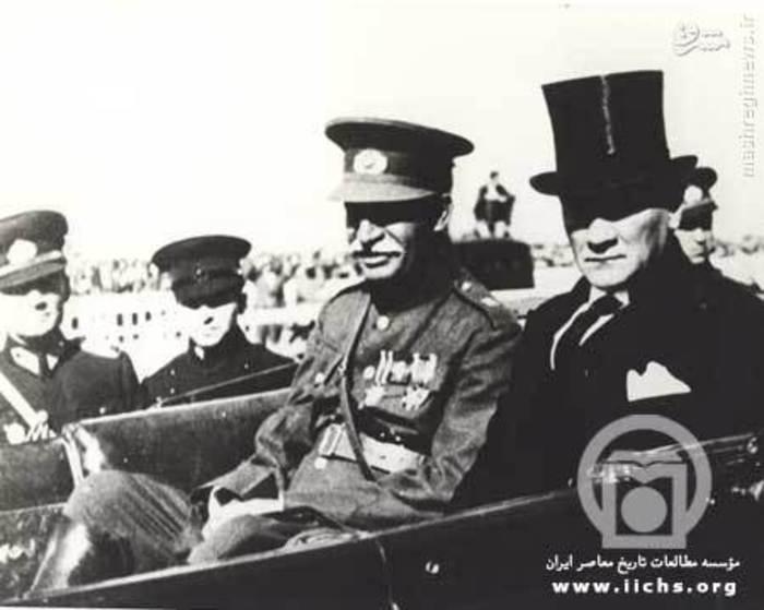 آتاتورک و رضا شاه