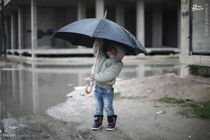 پسر سوری در دمشق