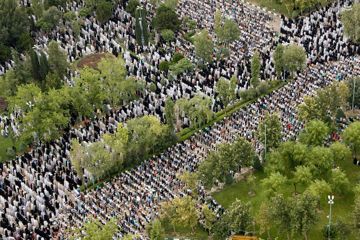 نماز عید فطر در تهران