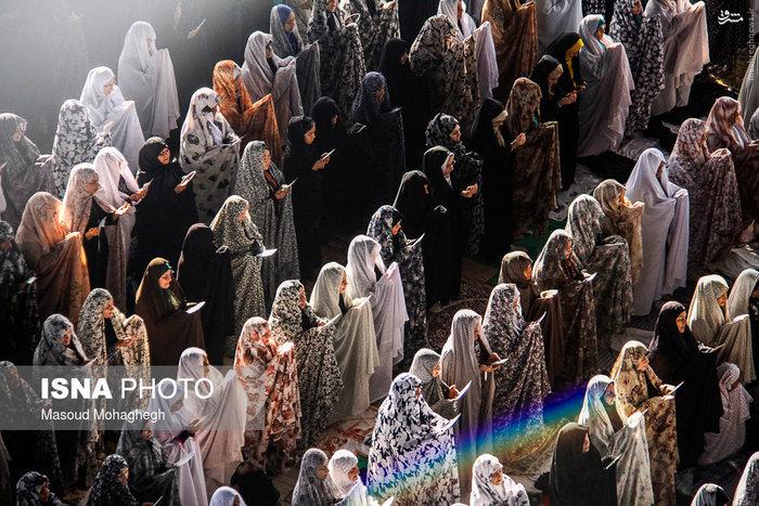 نماز عید فطر در سمنان