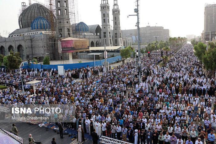 نماز عید فطر در بندرعباس