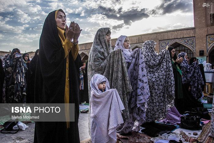نماز عید فطر در قزوین