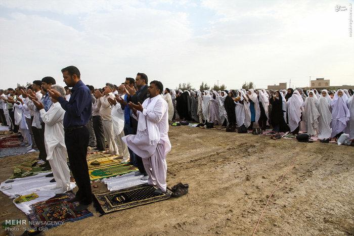 نماز عید فطر در زابل