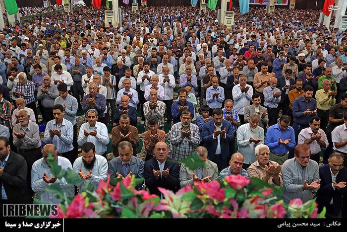 نماز عید فطر در بوشهر