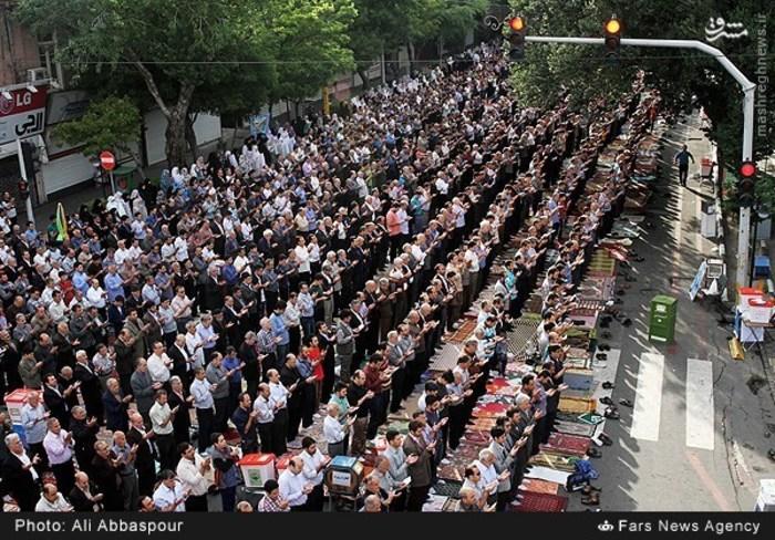 نماز عید فطر در تبریز