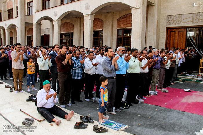 نماز عید فطر در گرگان