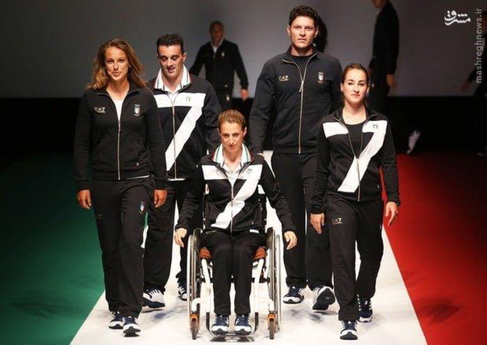 لباس کاروان المپیک کشورها