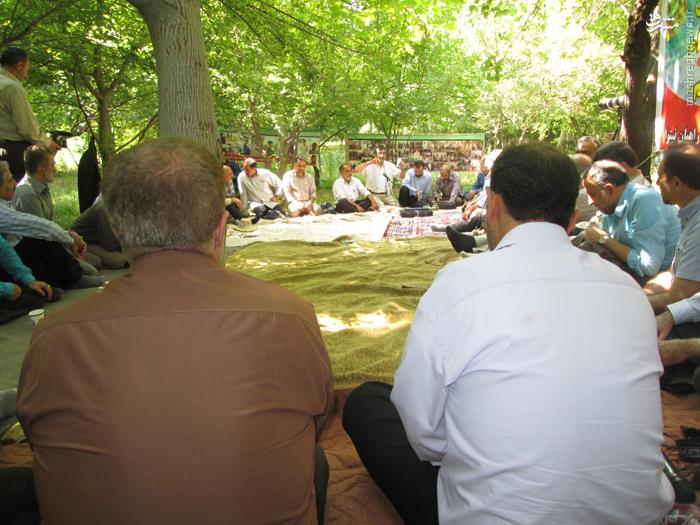 گردهمایی فرهنگی دیدبانهای لشکر 10