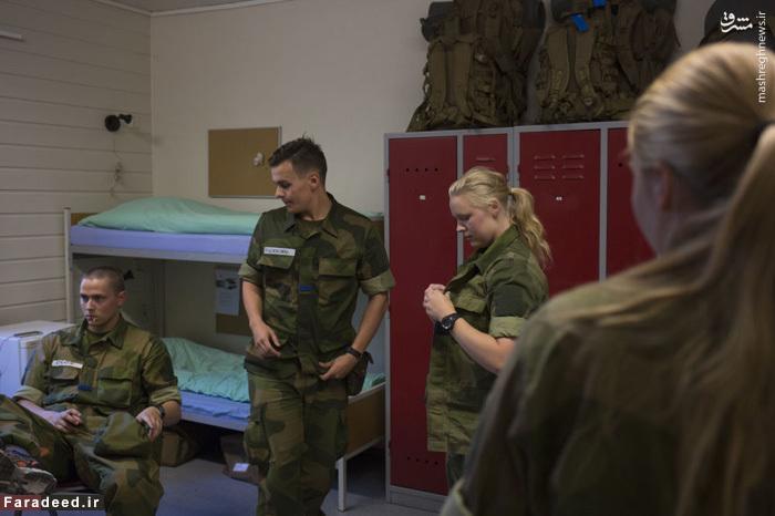 عکس/ خدمت سربازی زنان در نروژ