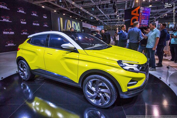 نمایشگاه ماشین در روسیه,عکس های نمایشگاه خودرو در مسکو,تصاویر نمایشگاه خودرو در روسیه ,مجله مراحم