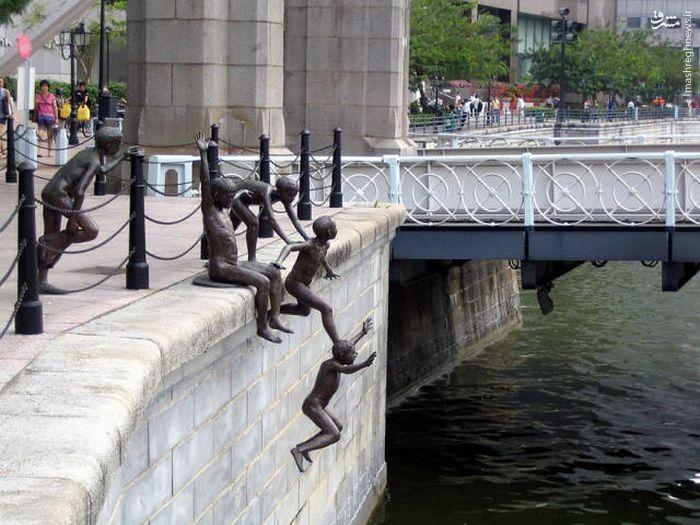 عکس/ عجیبترین مجسمههای دنیا