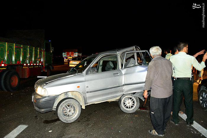 اتوبان تهران – ساوه٬ تصادف زنجیرهای در اتوبان تهران – ساوه٬ تصادف زنجیرهای وحشتناک