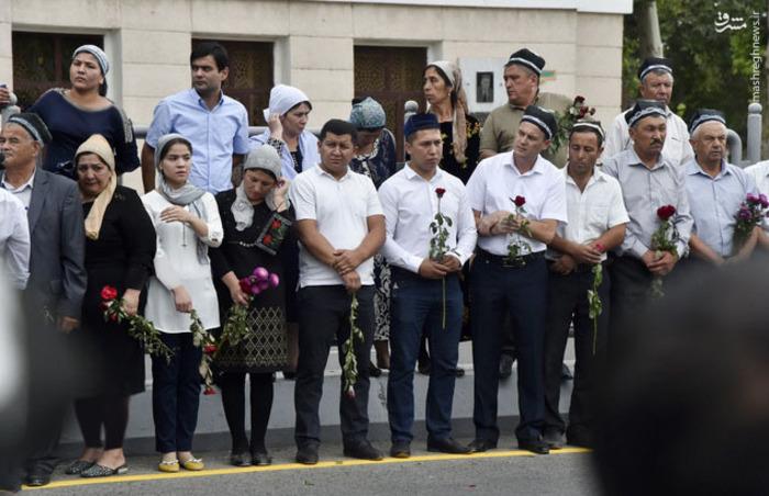 تشییع جنازه رئیس جمهور ازبکستان,تشییع جنازه کریم اف