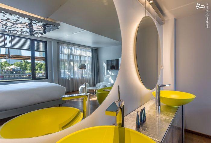 تصاویر: هتل شناور در پاریس,هتل روی آب در پاریس,هتل متحرک,بهترین هتل های فرانسه
