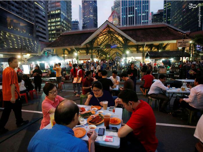 غذاهای خیابانی, عکس های سنگاپور, فرهنگ سنگاپور,زندگی مردم سنگاپور